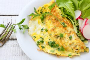 Schnelle gesunde Rezepte: Omelett-Rezept