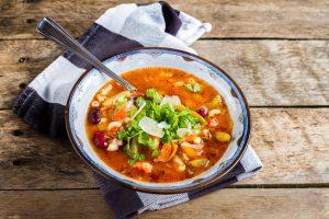 Schnelle gesunde Rezepte: Gemüsesuppe-Rezept