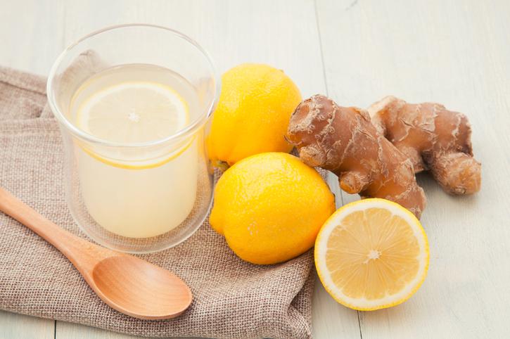 Schnelle gesunde Rezepte: Ingwertee-Rezept mit Zitrone
