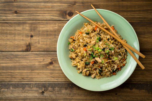 Schnelle gesunde Rezepte: Nasi-Goreng-Rezept
