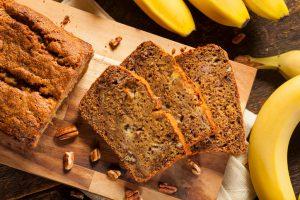 Schnelle gesunde Rezepte: Bananenbrot-Rezept