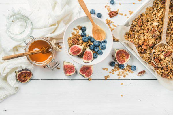 Schnelle gesunde Rezepte: Granola-Rezept