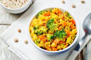 Schnelle gesunde Rezepte: Gemüsecurry-Rezept