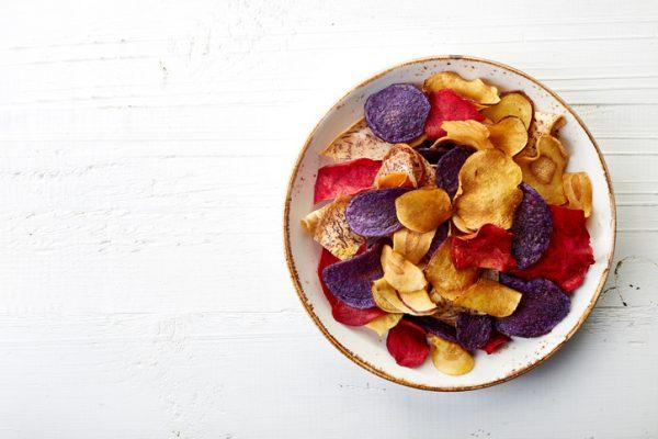 Schnelle gesunde Rezepte: Gemüsechips selber machen