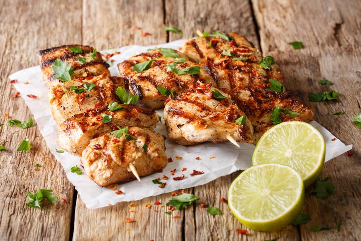 Schnelle gesunde Rezepte: Tandoori-Chicken-Rezept