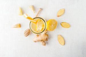 Schnelle gesunde Rezepte: Ingwer-Shot-Rezept
