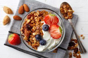 Schnelle gesunde Rezepte: Fruchtquark-Rezept