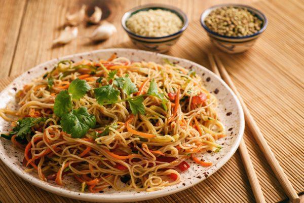 Schnelle gesunde Rezepte: Asia-Salat-Rezept