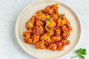 Schnelle gesunde Rezepte: Cauliflower-Wings-Rezept